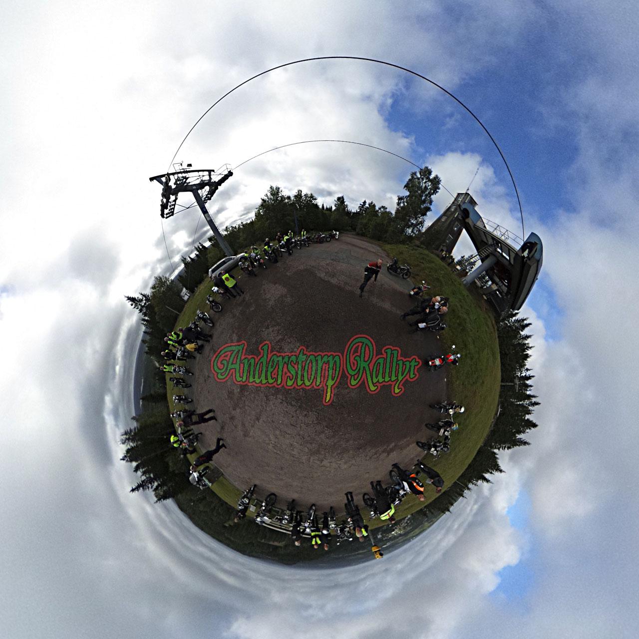 Panorama från Anderstorp Rallyt