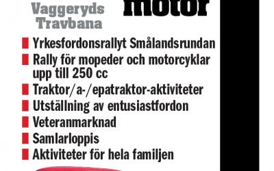 Inbjudan till Götaström Classic Motor – Vaggerydstravet 23 Maj