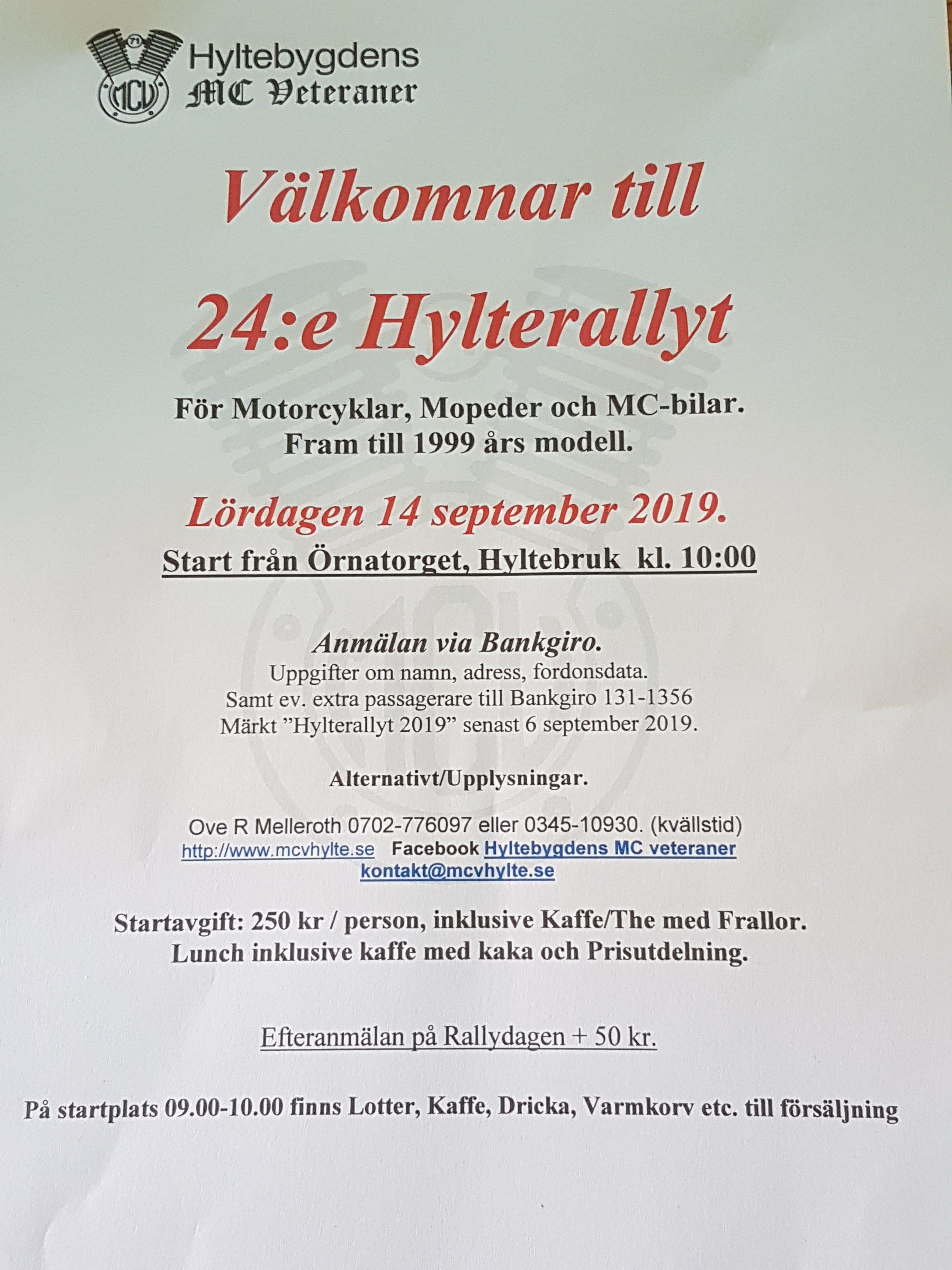 Hylte Rally 2019