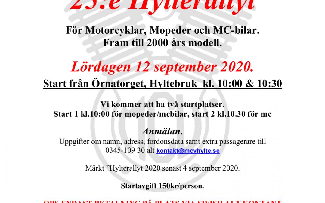Hylterallyt 2020